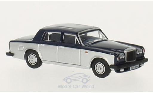 Bentley T2 1/76 Oxford dunkelbleue/grise RHD miniature
