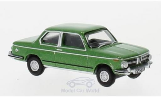 Bmw 2002 1/76 Oxford metallise verte miniature