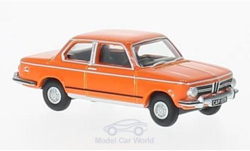 Bmw 2002 1/76 Oxford BMW orange RHD miniature
