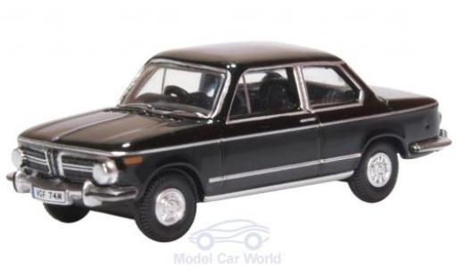 Bmw 2002 1/76 Oxford noire miniature