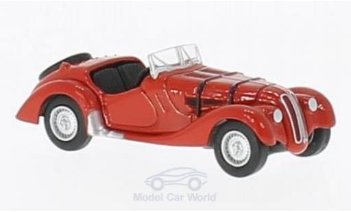 Bmw 328 1/76 Oxford red diecast model cars