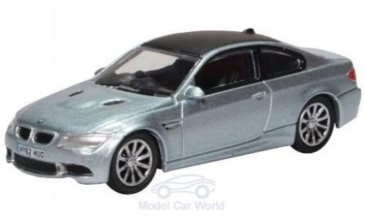 Bmw M3 1/76 Oxford (E92) Coupe metallise blue diecast model cars