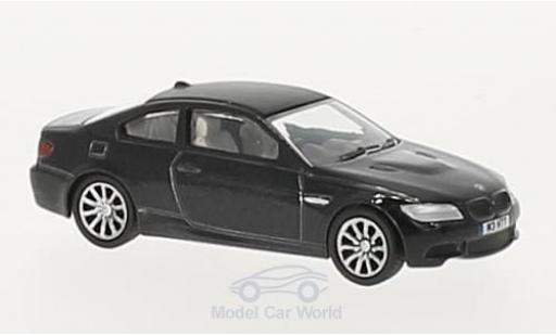 Bmw M3 1/76 Oxford (E92) Coupe metallise noire RHD miniature