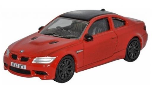 Bmw M3 1/76 Oxford (E92) red/black RHD diecast model cars
