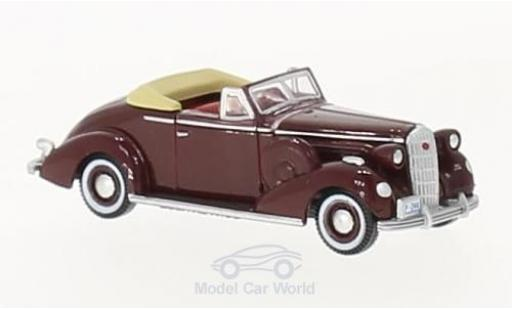 Buick Special 1/87 Oxford Convertible Coupe rouge 1936 miniature