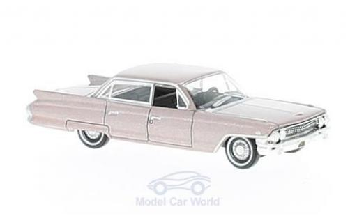 Cadillac Deville 1/87 Oxford DeVille Sedan metallic-rose 1961 miniature