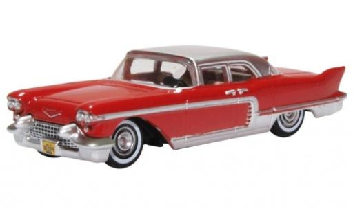 Cadillac Eldorado 1/87 Oxford Brougham rouge/grise 1957 miniature