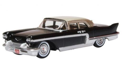 Cadillac Eldorado 1/87 Oxford Brougham noire/grise 1957 miniature