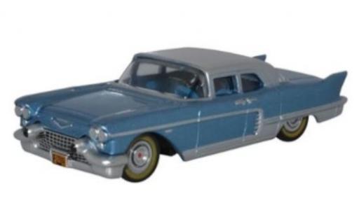 Cadillac Eldorado 1/87 Oxford Hard Top metallise blue/grey 1957 diecast model cars