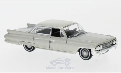 Cadillac Sedan 1/87 Oxford Deville metallise beige 1961 miniature