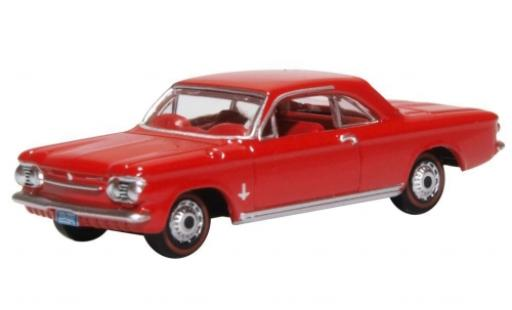 Chevrolet Corvair 1/87 Oxford Coupe red 1963 diecast model cars