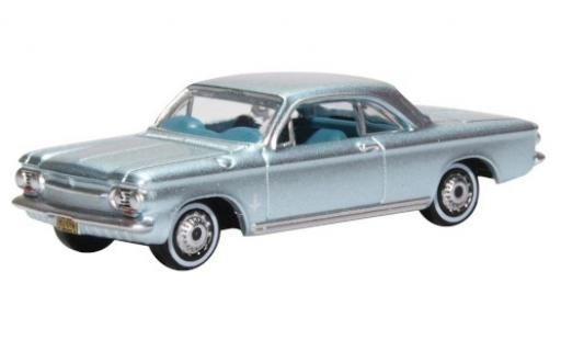 Chevrolet Corvair 1/87 Oxford metallise blue 1963 diecast model cars