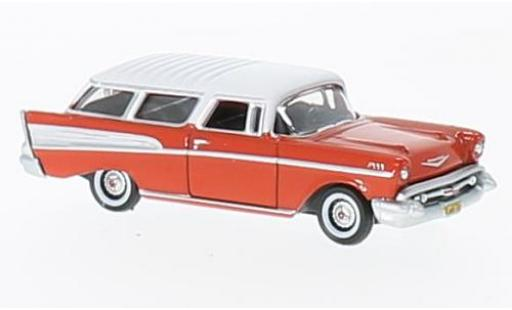 Chevrolet Nomad 1/87 Oxford rouge/blanche 1957 miniature