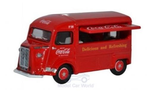 Citroen Type H 1/76 Oxford Van Coca Cola miniatura