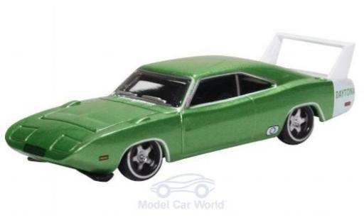 Dodge Charger 1/87 Oxford Daytona metallise verte 1969 miniature