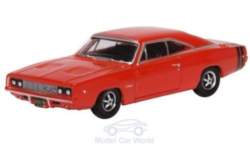 Dodge Charger 1/87 Oxford rouge 1968 miniature