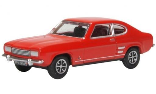 Ford Capri 1/76 Oxford Mk1 red RHD 1969 diecast model cars