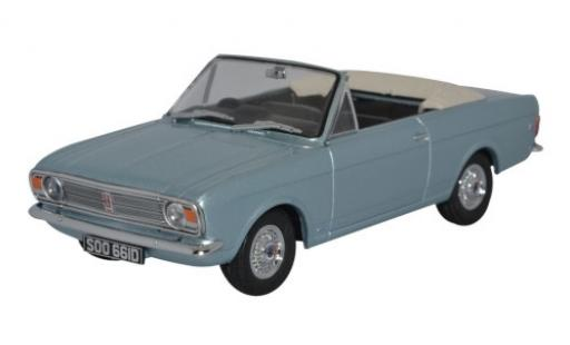 Ford Cortina 1/43 Oxford MkII Crayford Convertible metallise blue RHD Verdeck ouvert diecast model cars