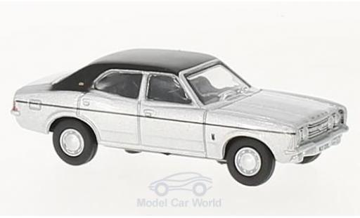 Ford Cortina 1/76 Oxford MKIII grise/noire miniature