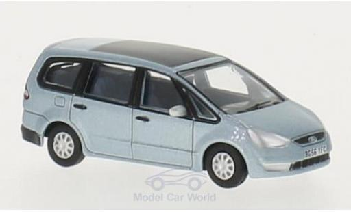 Ford Galaxy 1/76 Oxford metallise bleue RHD miniature