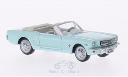 Ford Mustang 1/87 Oxford Convertible turquoise 1956 miniature
