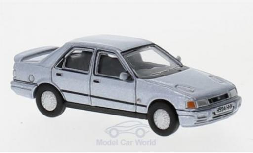 Ford Sierra 1/76 Oxford Sapphire metallic-hellbleue miniature