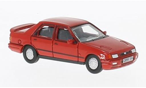 Ford Sierra 1/76 Oxford Sapphire red diecast model cars