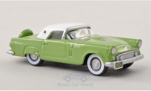 Ford Thunderbird 1956 1/87 Oxford verte/blanche miniature