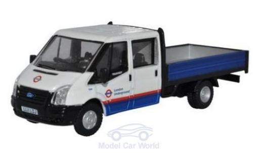 Ford Transit 1/76 Oxford Dropside London Underground miniature