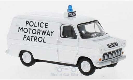 Ford Transit 1/76 Oxford MK1 Police Motorway Patrol (Gwent) miniature