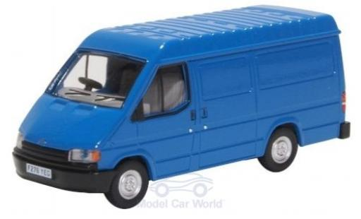 Ford Transit 1/76 Oxford Mk3 bleue RHD miniature
