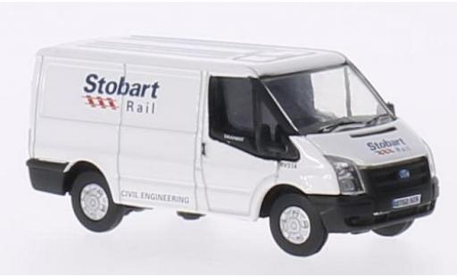 Ford Transit 1/76 Oxford RHD Stobart Rail diecast model cars