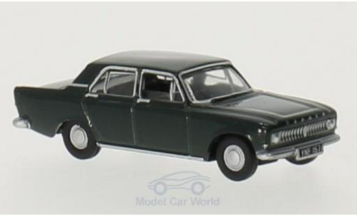 Ford Zephyr 1/76 Oxford verte RHD miniature