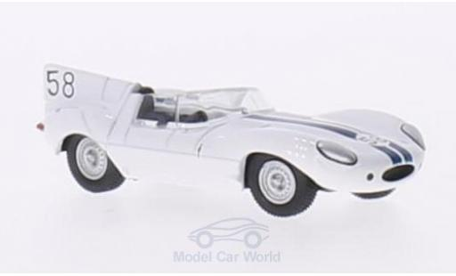 Jaguar D-Type 1/76 Oxford RHD No.58 Lime Rock Park 1957 W.Hansgen miniature