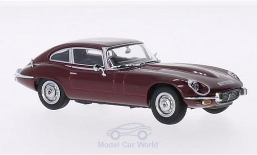 Jaguar E-Type 1/43 Oxford V12 Coupe rouge RHD miniature