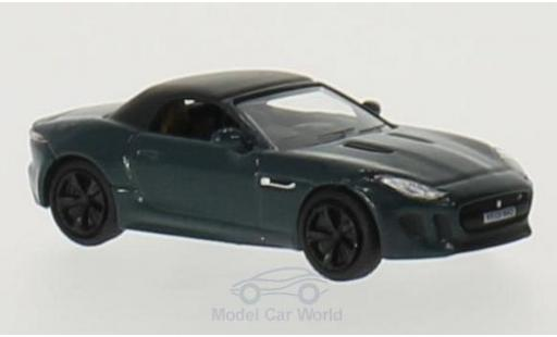 Jaguar F-Type 1/76 Oxford verte/noire RHD miniature
