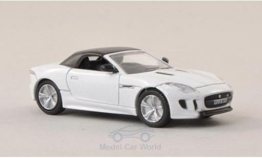 Jaguar F-Type 1/76 Oxford blanche miniature