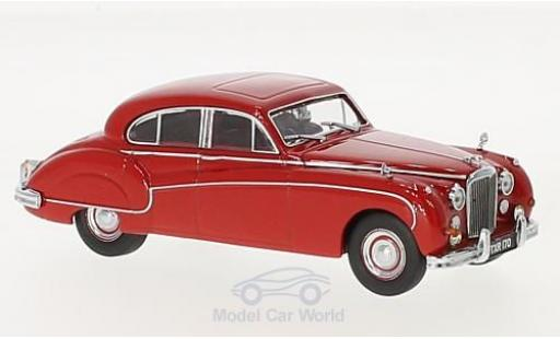 Jaguar MK 1/43 Oxford VIII rouge RHD miniature
