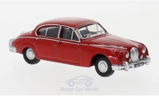 Jaguar MK 1/76 Oxford II rouge miniature