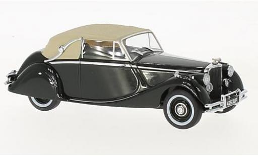 Jaguar MK 1/43 Oxford V DHC verte miniature