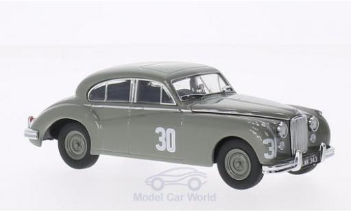 Jaguar MK 2 1/43 Oxford MkVII RHD No.30 Silverstone 1952 S.Moss miniature