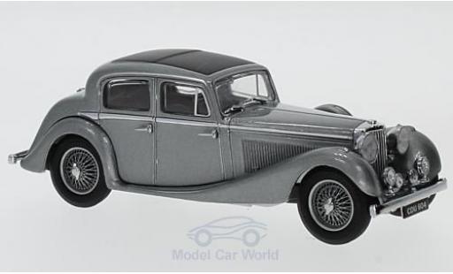 Jaguar SS 1/43 Oxford 2.5 Litre metallise grise RHD miniature