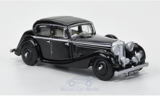 Jaguar SS 1/76 Oxford 2.5 litre noire 1937 miniature
