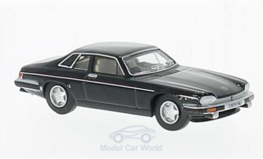 Jaguar XJS 1/76 Oxford black diecast model cars