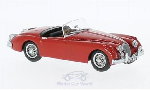 Jaguar XK 150 1/43 Oxford 150 Roadster rouge RHD miniature