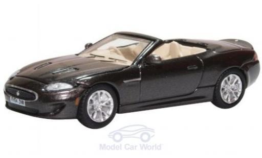 Jaguar XK 1/76 Oxford metallise grise RHD miniature