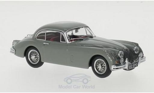 Jaguar XK coupe 1/43 Oxford 150 Coupe grau RHD modellautos