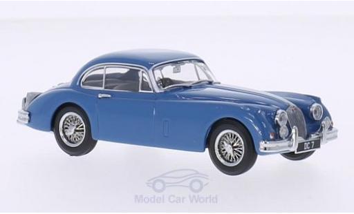 Jaguar XK 150 1/43 Oxford FHC bleue RHD miniature