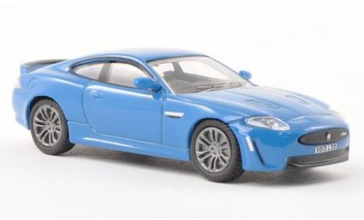 Jaguar XKR 1/76 Oxford -S bleue miniature