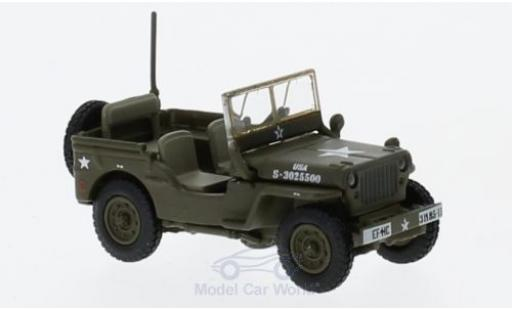 Jeep Willys 1/76 Oxford MB US Army miniature